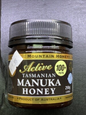Active Tasmanian Manuka Honey (250g)