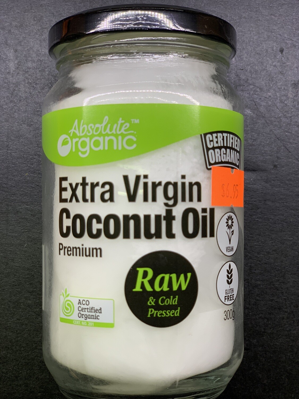 Raw Coconut Oil (300g)