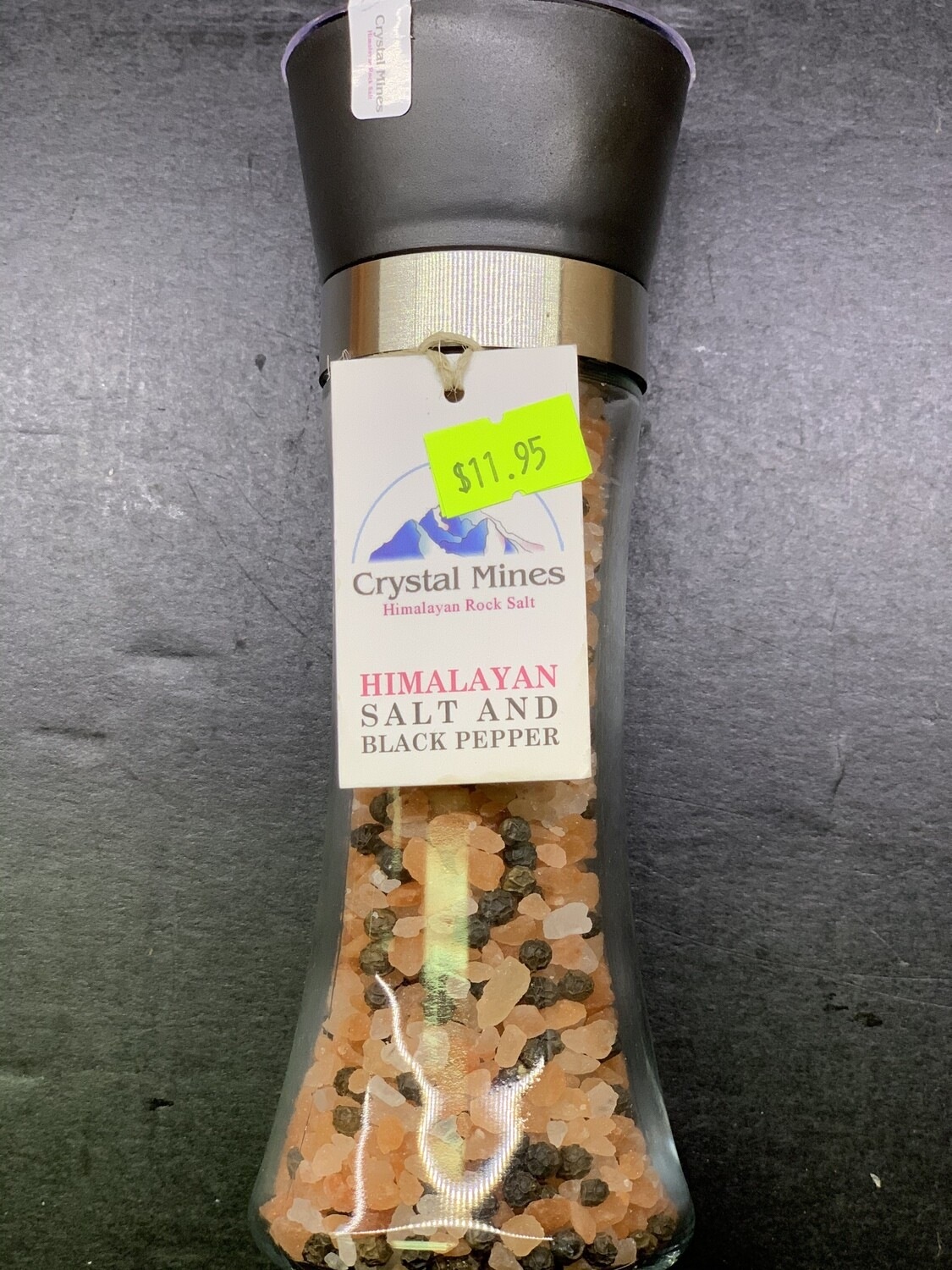 Himalayan Salt and Black Pepper (180g)