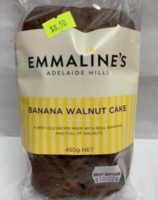 Banana Walnut Cake (450g)