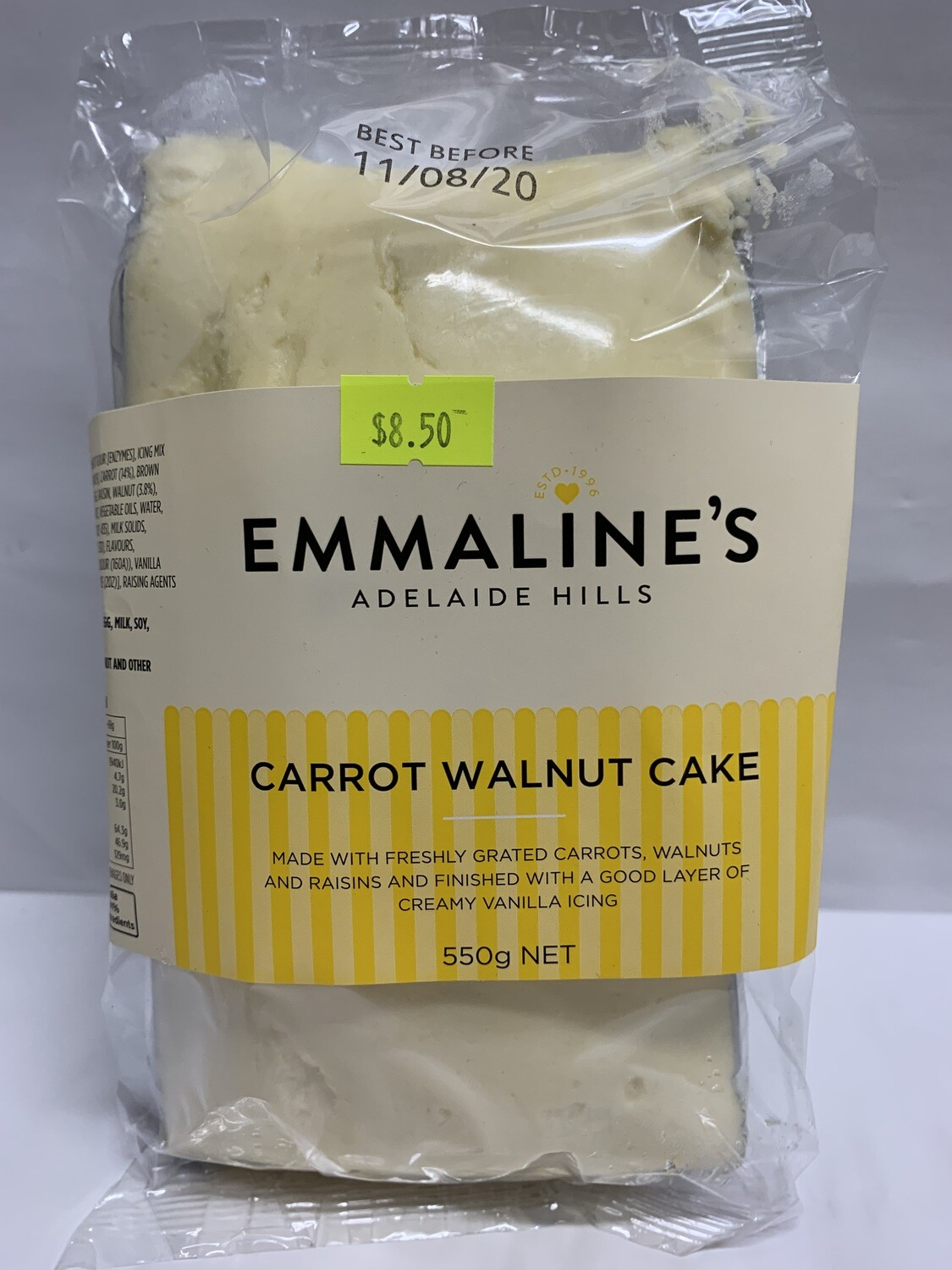 Carrot Walnut Cake (550g)
