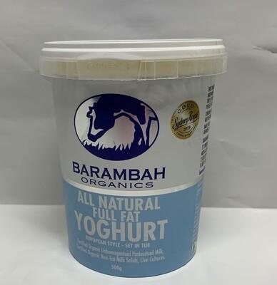 All Natural Full Fat Greek Yoghurt (500g)