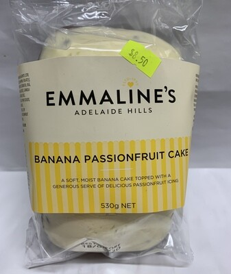 Banana Passionfruit Cake (530g)
