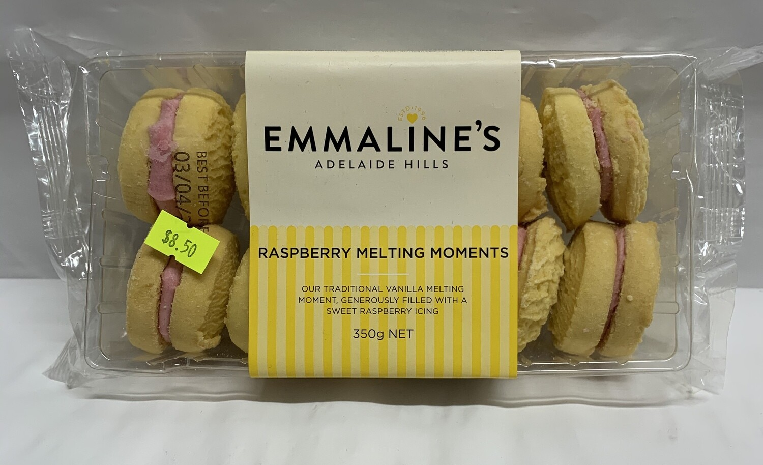Raspberry Melting Moments (350g)