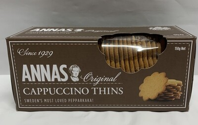 Cappuccino Thins (150g)