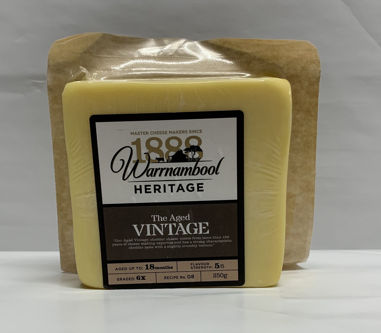 Aged Vintage Cheese -250g