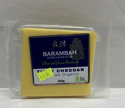 Organic Tasty Cheese (250g)