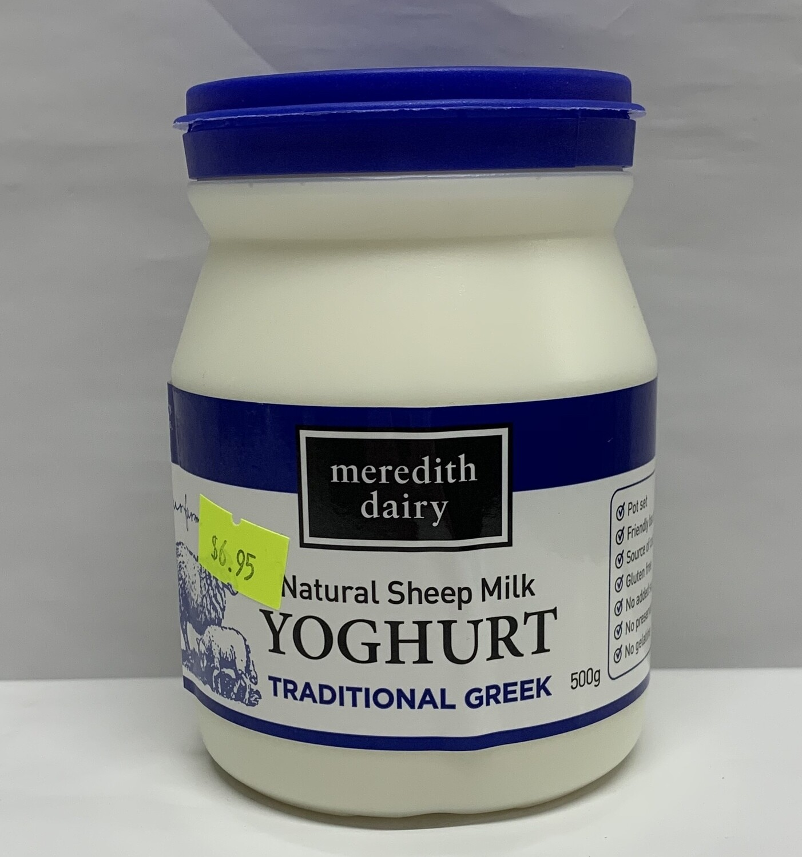 Traditional Greek Yoghurt (500g)