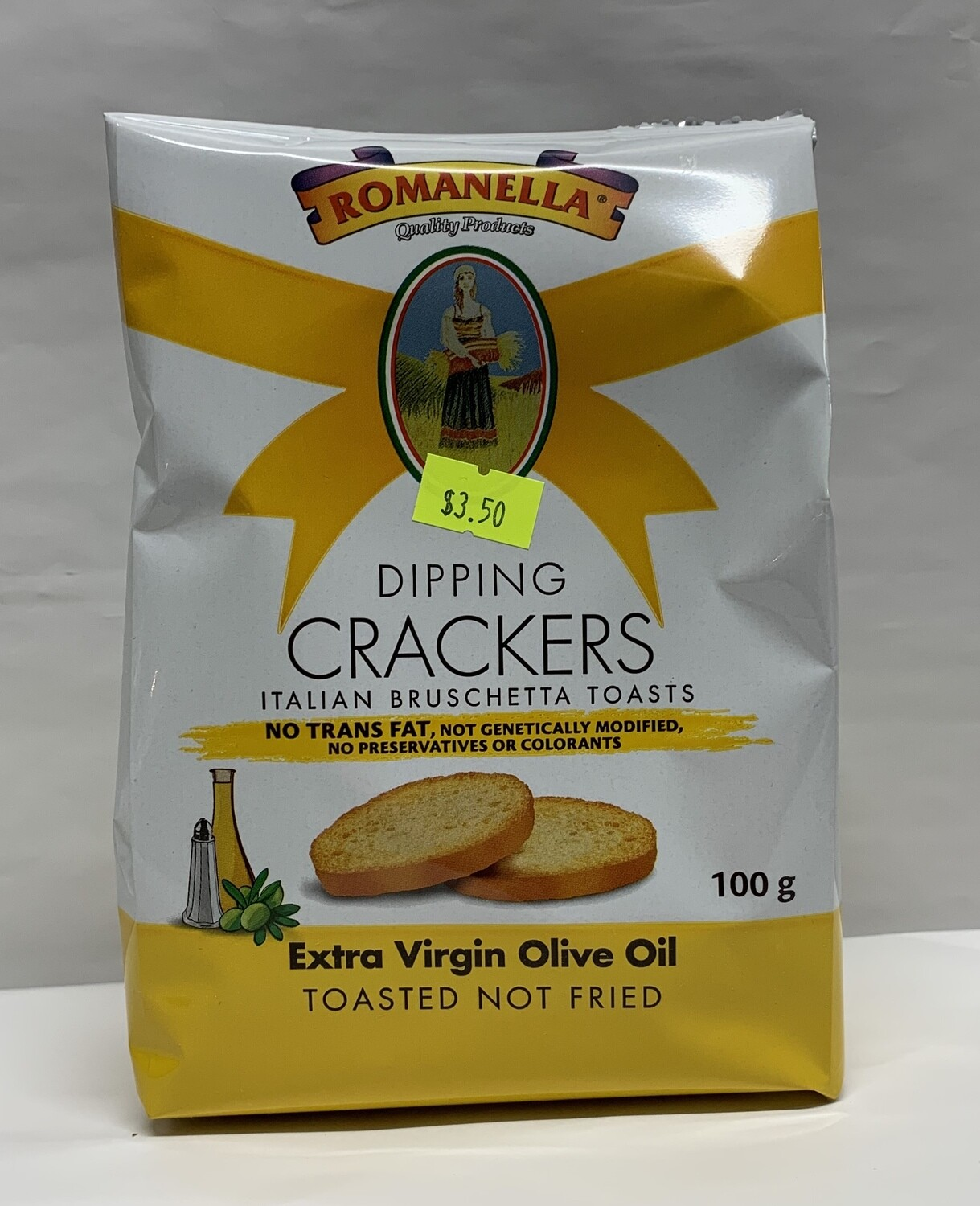 Extra Virgin Olive Oil Crackers (100g)