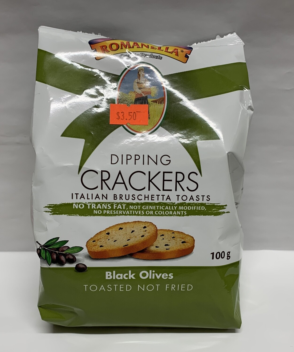 Black Olives Dipping Crackers (100g)