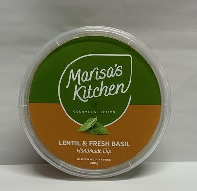 Lentil and Fresh Basil Dip (200g)