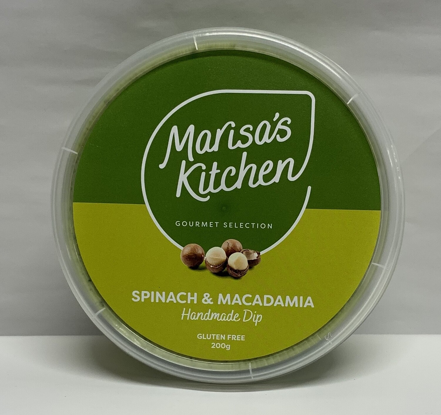 Spinach and Macadamia dip (200g)
