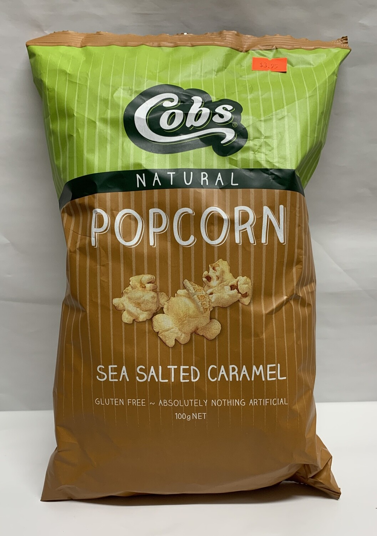 Sea Salt Caramel Popcorn (120g)