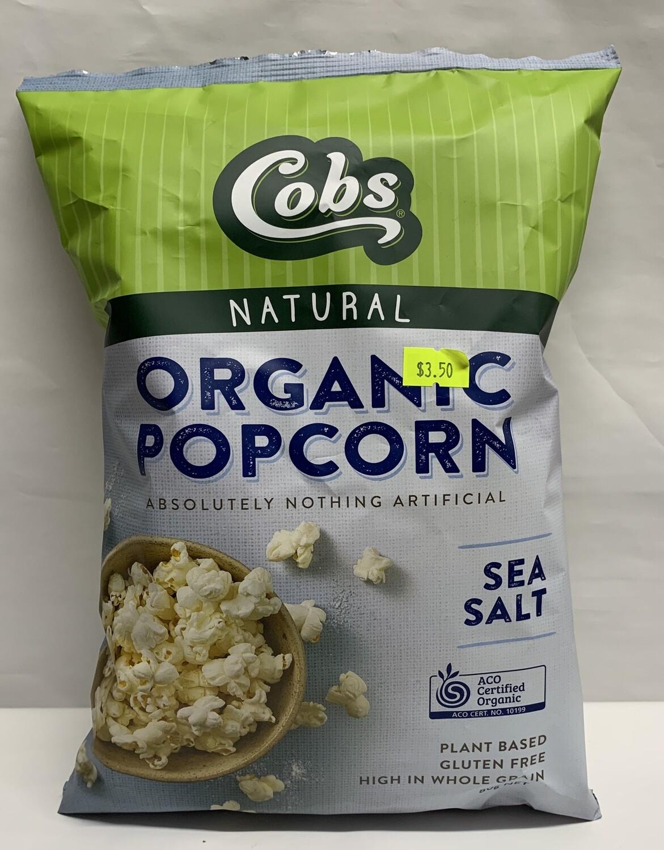 Organic Sea Salt Popcorn (120g)