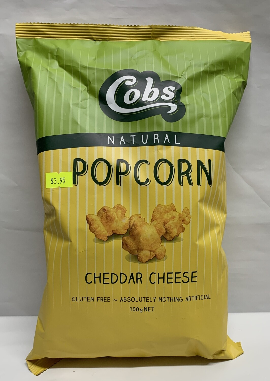 Cheddar Cheese Popcorn 100g