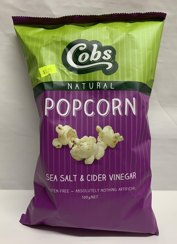 Sea Salt and Cider Vinegar Popcorn (120g)