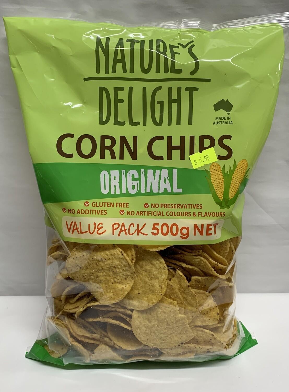 Original Corn Chips (500g)
