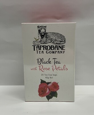 Black Tea with Rose Petals (40g)