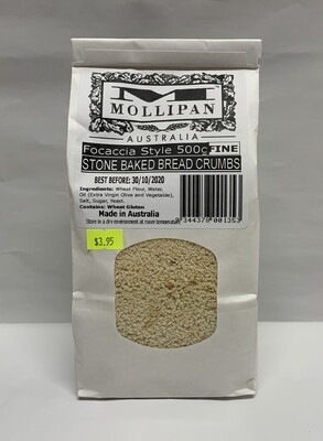 Stone Baked Bread Crumbs (500g)