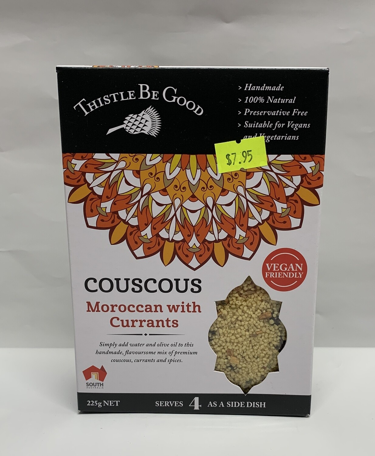 Moroccan with Currants (225g)