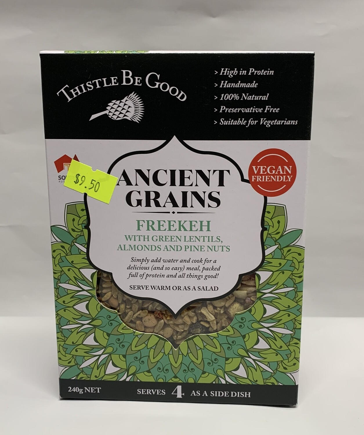 Freekeh with Green Lentils (240g)
