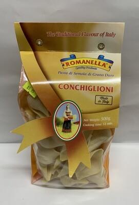 Romanella Conchiglioni Pasta (500g)