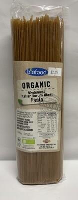 Organic Wholemeal Durum Wheat Pasta (500g)