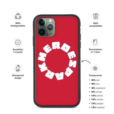 Biodegradable phone case (エコ iPhoneケース)