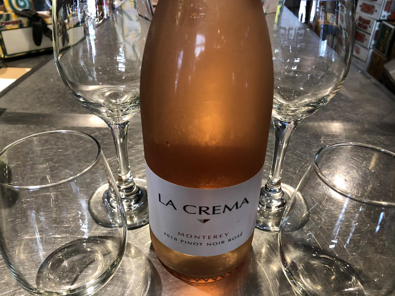 LA CREMA Monterey 2018 Pinot Noir Rose - Bottle