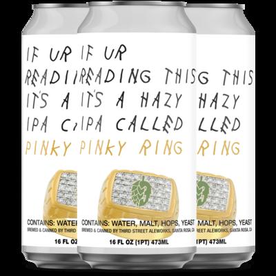 Pinky Ring Hazy IPA