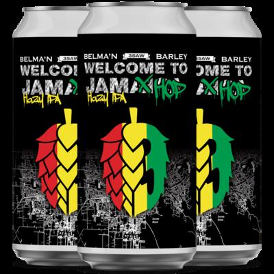 Welcome To Jamhop Hazy IPA