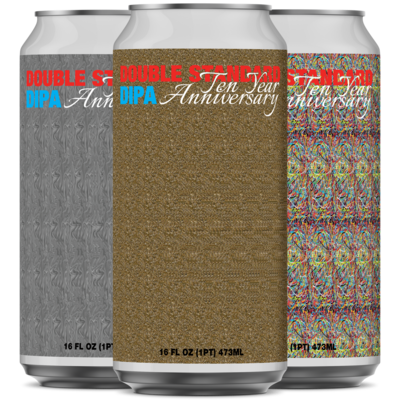 Double Standard Double IPA - 10 Year Anniversary