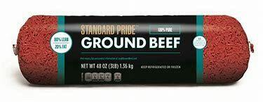 Beef, Ground Beef 81/19 5lb Frozen