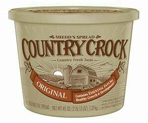 Butter, Country Crock Spread tub 5 lbs TUB