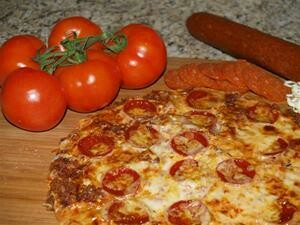 Pizza, TJ's Pepperoni Frozen Pizza 9