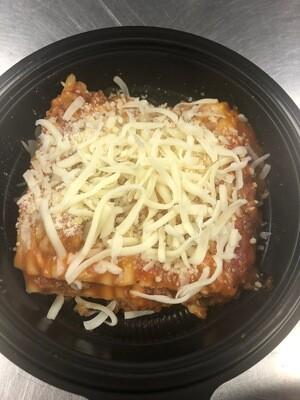 Baked Lasagna, single serve
