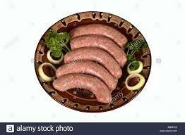 Pork Sausage Brats   6 lbs case