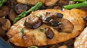 Chicken Marsala, Choose you sides and Head Count