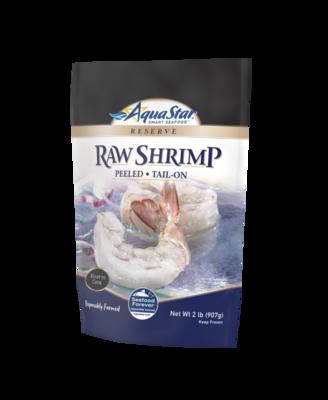 Fish, Shrimp Raw Peeled Tail On 2 lbs