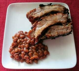 Pork Smoked Ribs choose your Head cont and Side