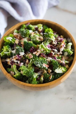 Side, Broccoli Salad