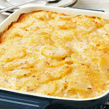 Side, Au Gratin Potatoes