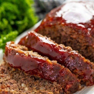 Beef Meal-Meat Loaf Dinner pick your Head count and sides