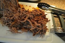 Beef Meal-Shredded Brisket Dinner pick your Head count and sides