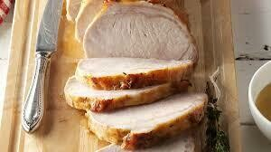 Pork Meal-Pork Loin with BOURBON Sauce Dinner pick your Head count and sides