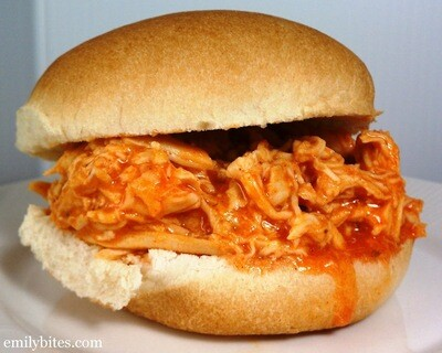 Chicken Meal-Pulled Buffalo Chicken Sandwich Dinner pick your Head count and sides