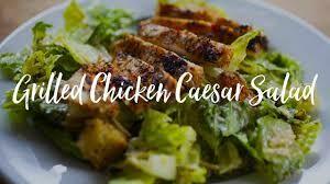 Grilled Chicken Caesar Salad, single serve