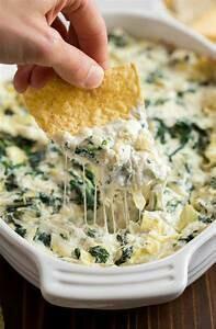 Spinach Artichoke Dip w/Chips