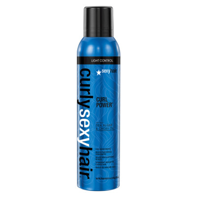Curly Sexy Curl Power Bounce Mousse Spray, 8.5 oz