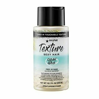 Texture Sexy Clean Wave Texturizing Styling Shampoo, 10.1 oz